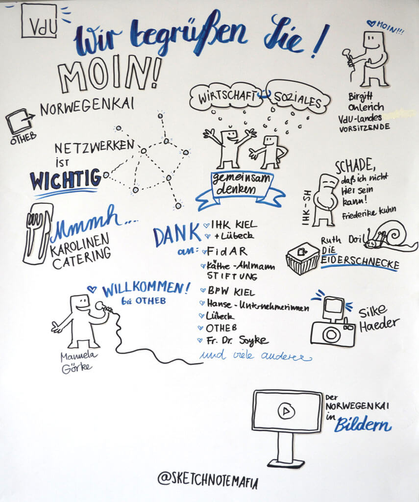 OTHEB Sketchnote - Moin!